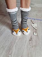 Женские зимние меховые носочки, женские тёплые носки