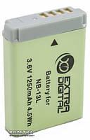 Аккумулятор для фотоаппарата Extradigital Canon NB-13L, Li-ion, 1250 mAh (BDC2687)