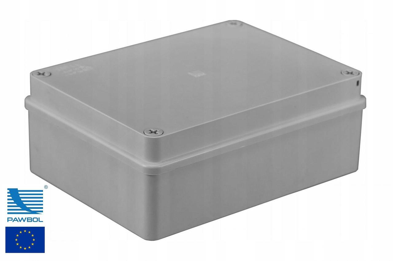 Коробка монтажная IP66 190x140x70 Pawbol S-Box 416 распределительная наружнная   настенная с гладкими стенками
