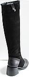 Сапоги женские зимние замшевые европейка от производителя КЛ2115, фото 4