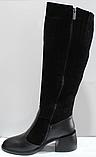 Сапоги женские зимние замшевые европейка от производителя КЛ2115, фото 3