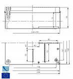 Коробка розподільна IP65 240x190x90 SEZ S-Box 516, фото 2