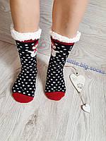 Женские меховые носки, зимние тёплые носки женские