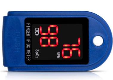 Пульсоксиметр напалечный для измерения уровня кислорода в крови Pulse Oximeter JZK-302 Хит продаж