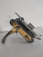 Siba Palermo 5k0609 дверная ручка + замок + цилиндровый механизм с ключами, комплект для деревянной двери