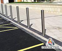 Стаціонарні вуличні дорожні загородження з нержавіючої сталі, фото 1