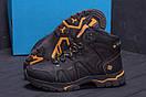 Мужские зимние кожаные ботинки Columbia Black  (реплика), фото 9