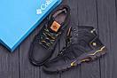Мужские зимние кожаные ботинки Columbia Black  (реплика), фото 10