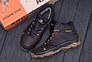 Мужские зимние кожаные ботинки Merrell Chocolate  (реплика), фото 10