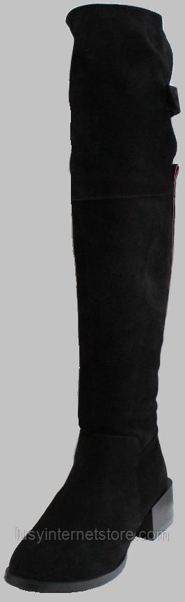 Ботфорты зимние женские замшевые от производителя КЛ2111