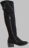 Ботфорты зимние женские замшевые от производителя КЛ2111, фото 3
