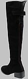 Ботфорты зимние женские замшевые от производителя КЛ2111, фото 4