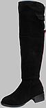 Ботфорты зимние женские замшевые от производителя КЛ2111, фото 2