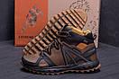 Мужские зимние кожаные ботинки Merrell Hyperlock Olive (реплика), фото 8