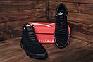 Мужские зимние кожаные ботинки Puma Black  (реплика), фото 9