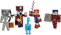 Набор фигурок Майнкрафт Храм пустини Mattel Minecraft Dungeons Desert Temple Battle Pack