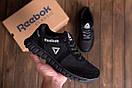 Мужские кожаные кроссовки  Reebok SPRINT TR  Black (реплика), фото 7