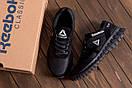 Мужские кожаные кроссовки  Reebok SPRINT TR  Black (реплика), фото 10