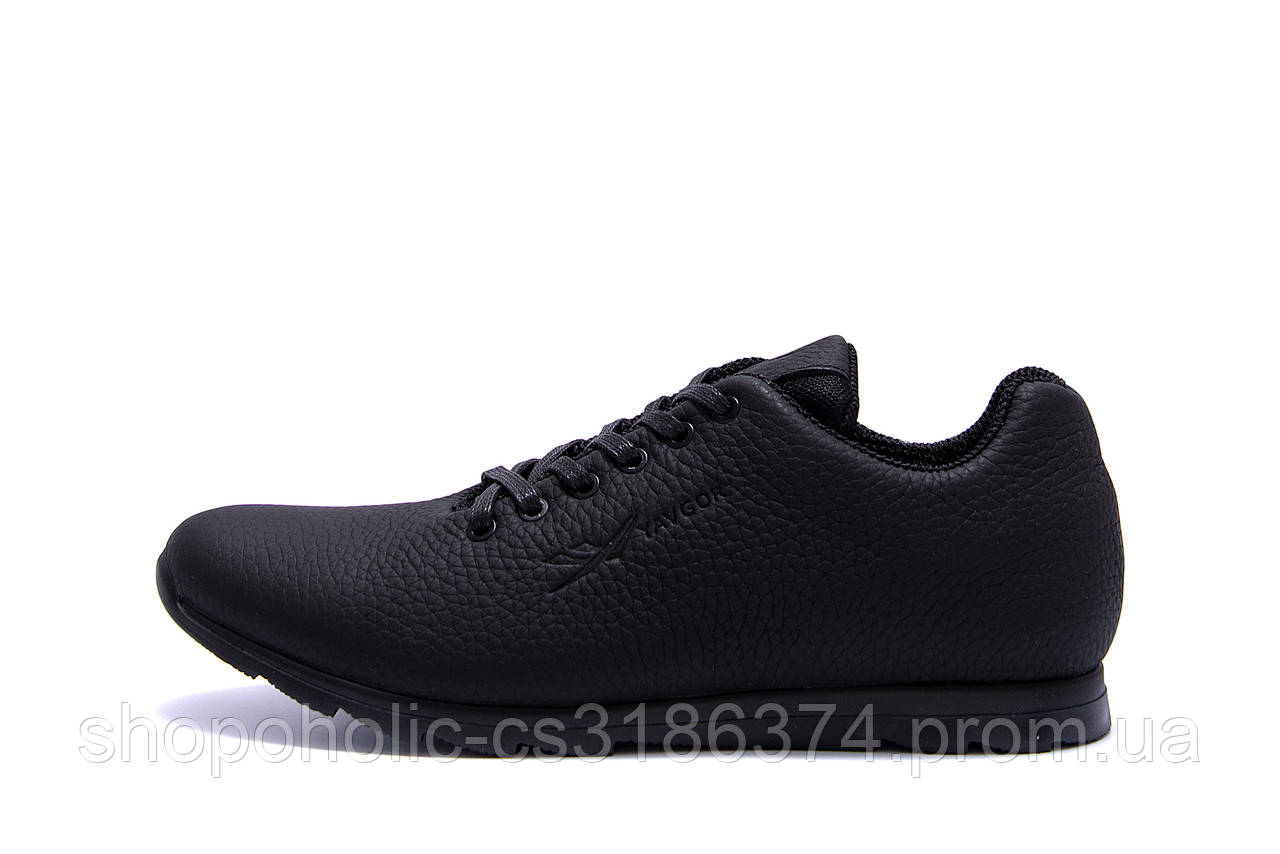 Мужские кожаные кроссовки  YAVGOR Soft series