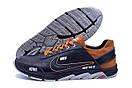 Мужские кожаные кроссовки Nike N700 (реплика), фото 5