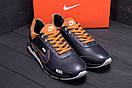 Мужские кожаные кроссовки Nike N700 (реплика), фото 7