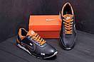 Мужские кожаные кроссовки Nike N700 (реплика), фото 9