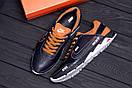Мужские кожаные кроссовки Nike N700 (реплика), фото 10