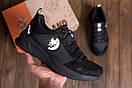Мужские кожаные кроссовки Pitbull Black, фото 7