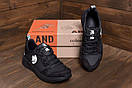 Мужские кожаные кроссовки Pitbull Black, фото 10