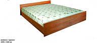 Кровать двуспальная № 1 для домов отдыха, общежитий, гостиниц