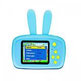 Противоударный цифровой детский фотоаппарат игрушка, видеокамера зайчик Smart Kids Camera 3 Series(игрушки), фото 6