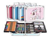 Подарочный набор для рисования в чемодане Amazecat, модель blue Unicorn, фото 5