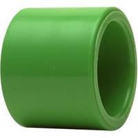 Муфта, PP-R, D = 25 мм, зеленая