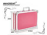 Подарочный набор для рисования в чемодане Amazecat, модель blue Unicorn, фото 7