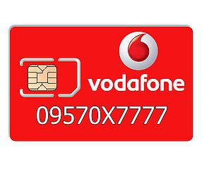 Красивий номер Vodafone 09570X7777