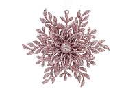 Ялинкова прикраса Сніжинка 12см