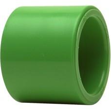 Муфта, PP-R, D = 40 мм, зеленая