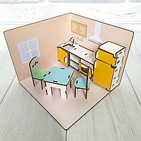 Маленький LOLBOX Кухня с мебелью