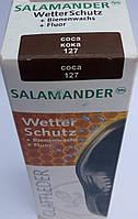 """Крем Кока """"Wetter-Schutz"""" для гладкой кожи с губкой Саламандра Германия 75мл, фото 1"""