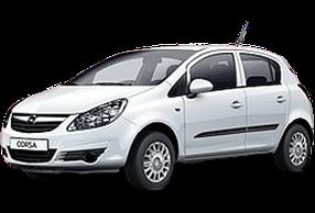 Дефлекторы на боковые стекла (Ветровики) для Opel (Опель) Corsa D 2006-2014