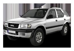 Дефлекторы на боковые стекла (Ветровики) для Opel (Опель) Frontera A 1991-1998