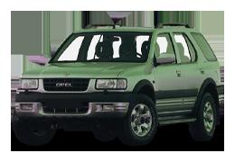 Дефлекторы на боковые стекла (Ветровики) для Opel (Опель) Frontera B 1998-2004