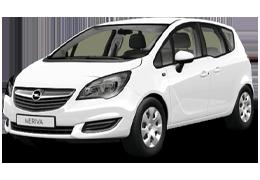 Дефлекторы на боковые стекла (Ветровики) для Opel (Опель) Meriva B 2010-2017