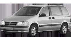 Дефлекторы на боковые стекла (Ветровики) для Opel (Опель) Sintra 1996-99