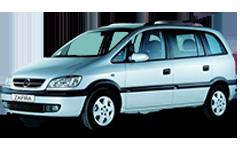 Дефлекторы на боковые стекла (Ветровики) для Opel (Опель) Zafira A 2000-2005