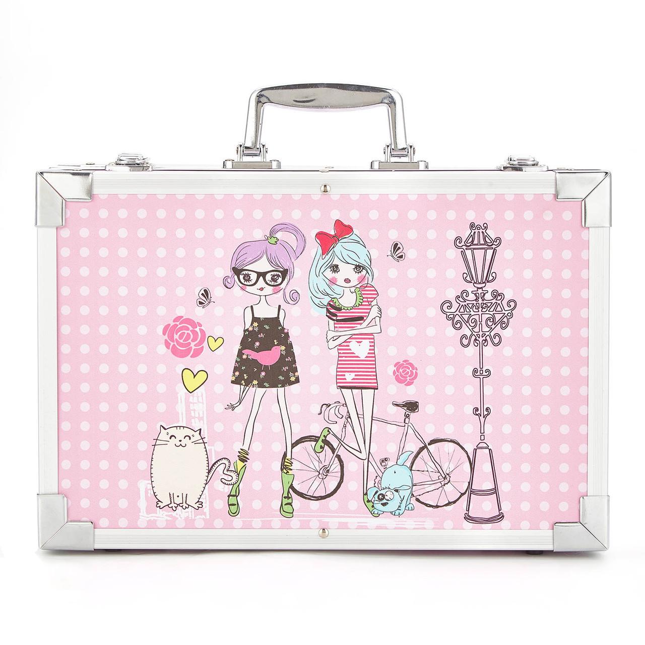 Набор для рисования в чемодане Amazecat, модель Pink girl