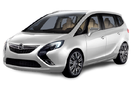 Дефлекторы на боковые стекла (Ветровики) для Opel (Опель) Zafira C 2011+