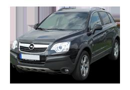 Дефлекторы на боковые стекла (Ветровики) для Opel (Опель) Antara 2006-2011