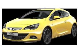 Дефлекторы на боковые стекла (Ветровики) для Opel (Опель) Astra J GTC 2011+