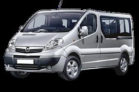 Дефлекторы на боковые стекла (Ветровики) для Opel (Опель) Vivaro I 2001-2014